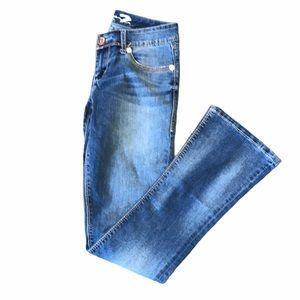 Seven7 rocker slim bootcut Low rise jeans 28